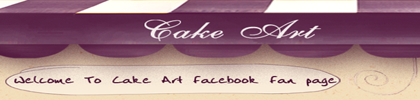 Cake Art Facebook template